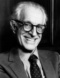 An image shows the iconic psychologist Albert Ellis who made Balanced Achievement's list of history's most influential psychologists.
