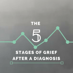 5 stages of grief, diagnosis, chronic illness, invisible illness, autoimmune disease