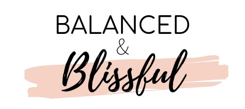 balanced and blissful
