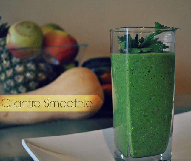 cilantro-smoothie