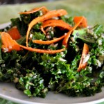 Vegan Recipe: Kale, Carrot, Quinoa & Sunflower Seed Salad