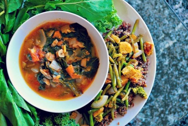 vegan-asian-tomato-and-mushroom-soup
