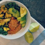 10 minute Vegan Avocado Bean Bowl