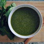 Cleansing Mung Bean Spinach Soup Recipe