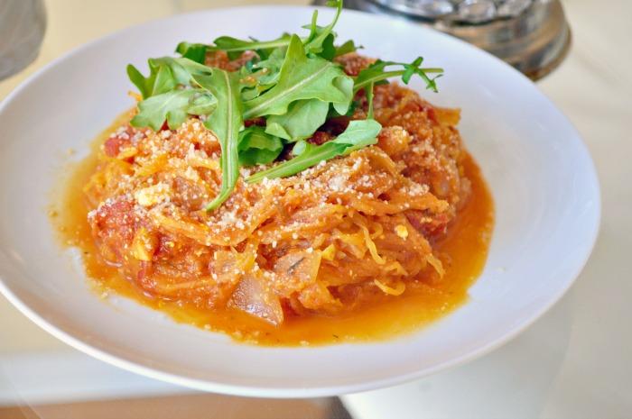 how to cook spaghetti squash pasta