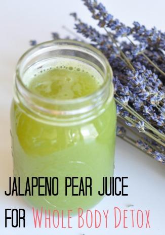jalapeno pear juice
