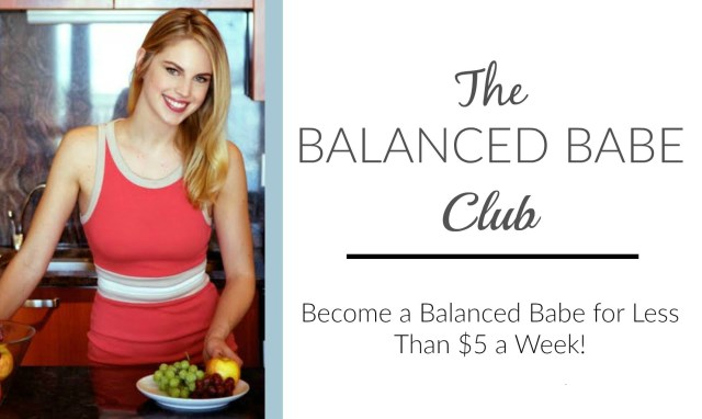 the balanced babe membership