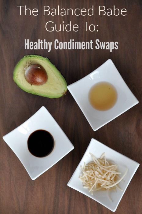 healthy condiment swaps