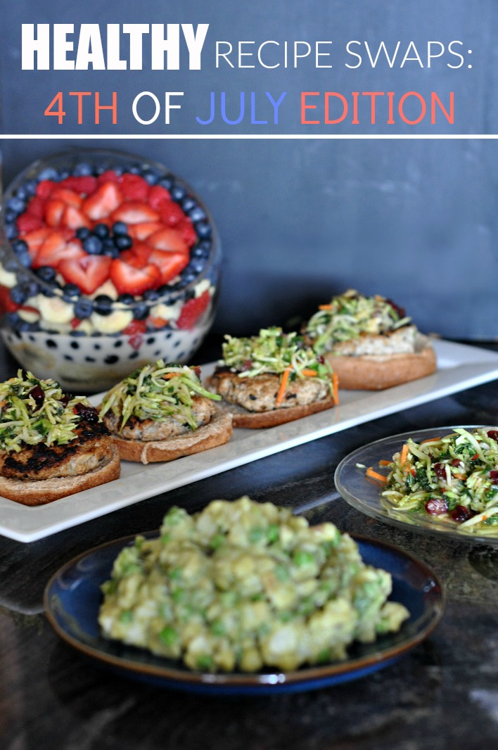 healthy recipe swaps 4th of july pinterest