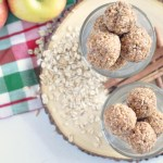 No Bake Cinnamon Apple Energy Bites