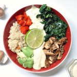 Vegan White Wine Mushroom Winter Macro Bowl Recipe With Cashew Cheese