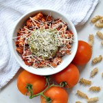Brown Rice Pasta With Creamy Dairy-Free Tomato Sauce