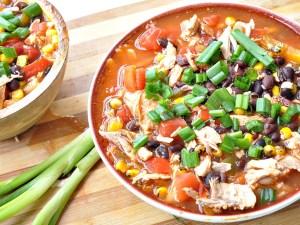 healthier tortilla soup