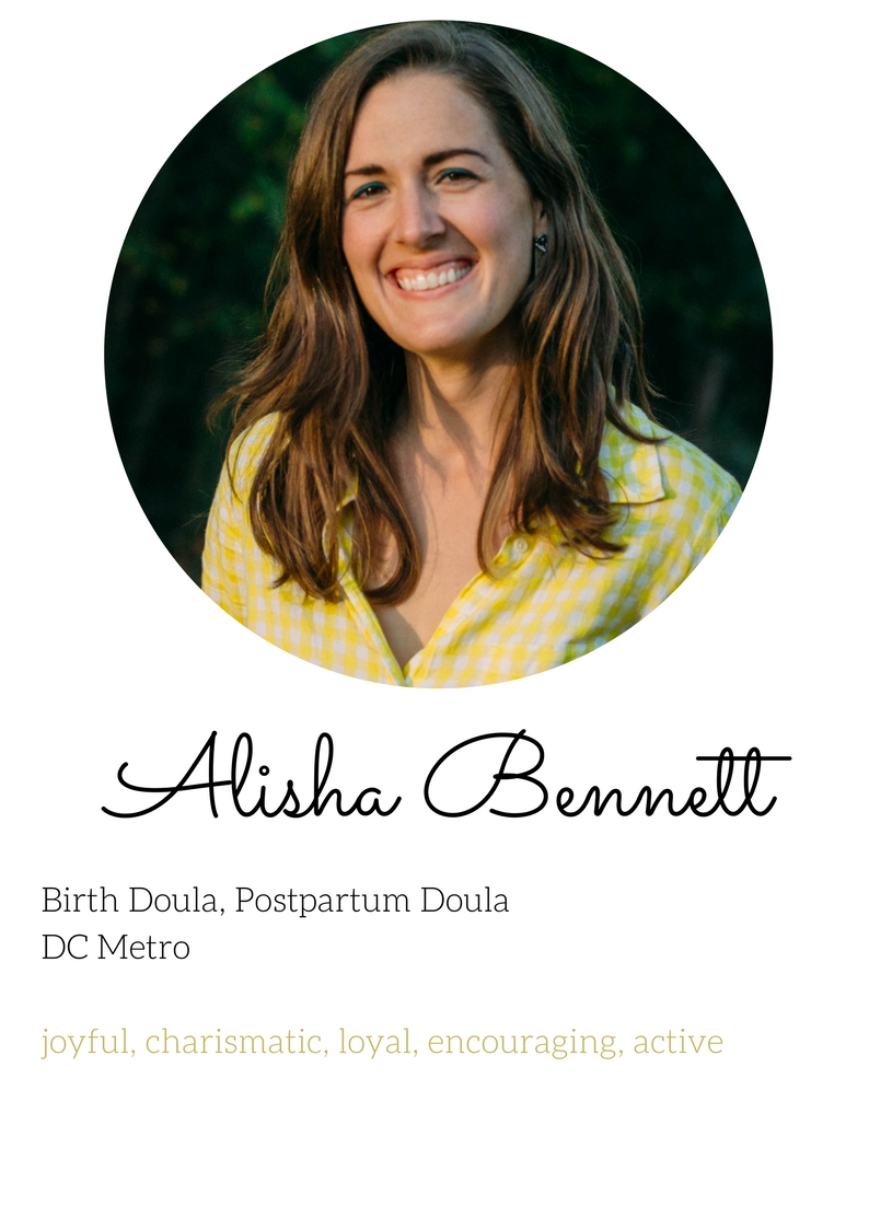 alisha bennett birth and postpartum doula