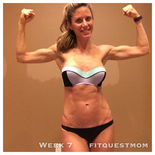FitQuestMom Abs Day 50 10.26.15 Wk7