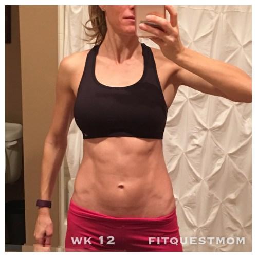 Abs wk12 reverse diet fitquestmom