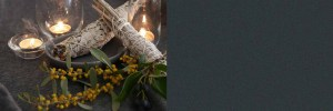 Sumdging Sage and Candles