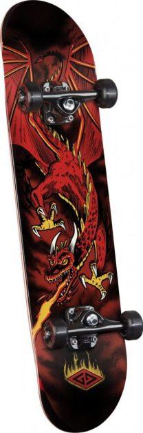 Powell Golden Dragon Flying skateboard for beginners