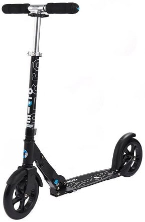 Micro Adult Kick Scooter White and Black