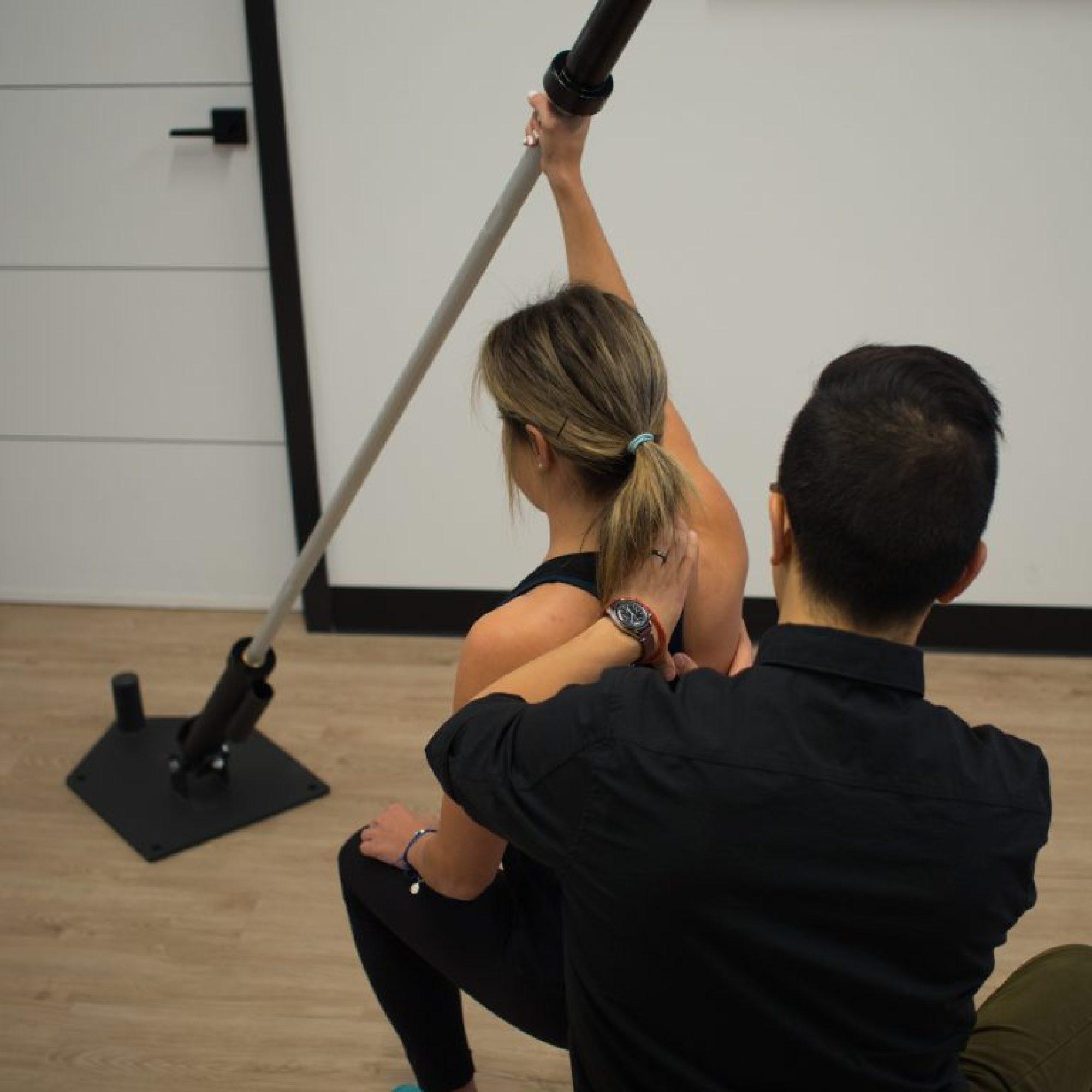 Balance physiotherapy & massage shoulder rehab