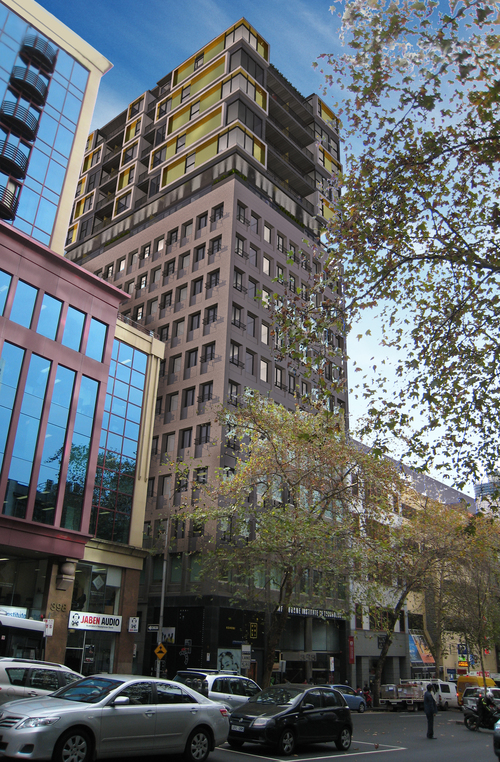 388 Lonsdale Street Apartment  Balance Business and Real