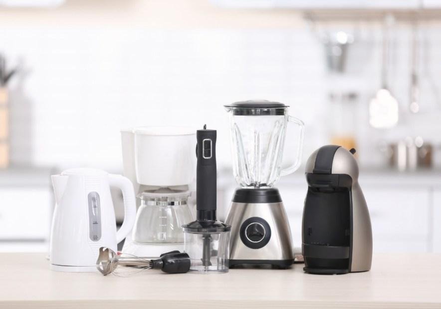 Decluttering kitchen appliances