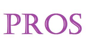 proscons-pros