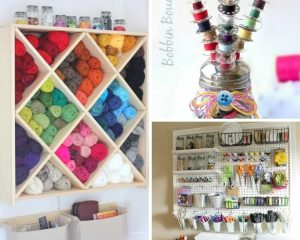 11 Smart Craft Room Organization Ideas You'll Want to Copy