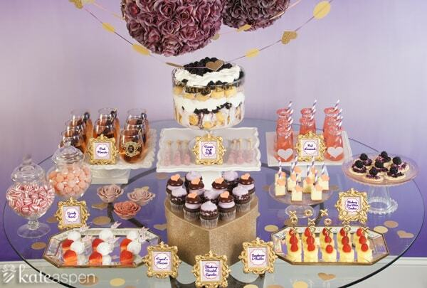 dessert table food bar