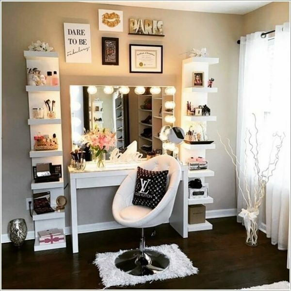 DIY Makeup Vanity Ideas