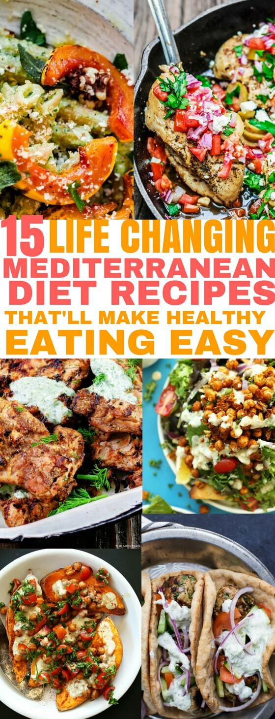 15 delicious Mediterranean Diet recipes that'll make healthy eating easy!