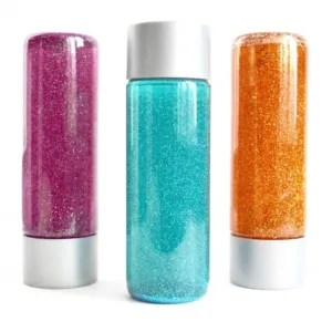glitter tube sensory bottle