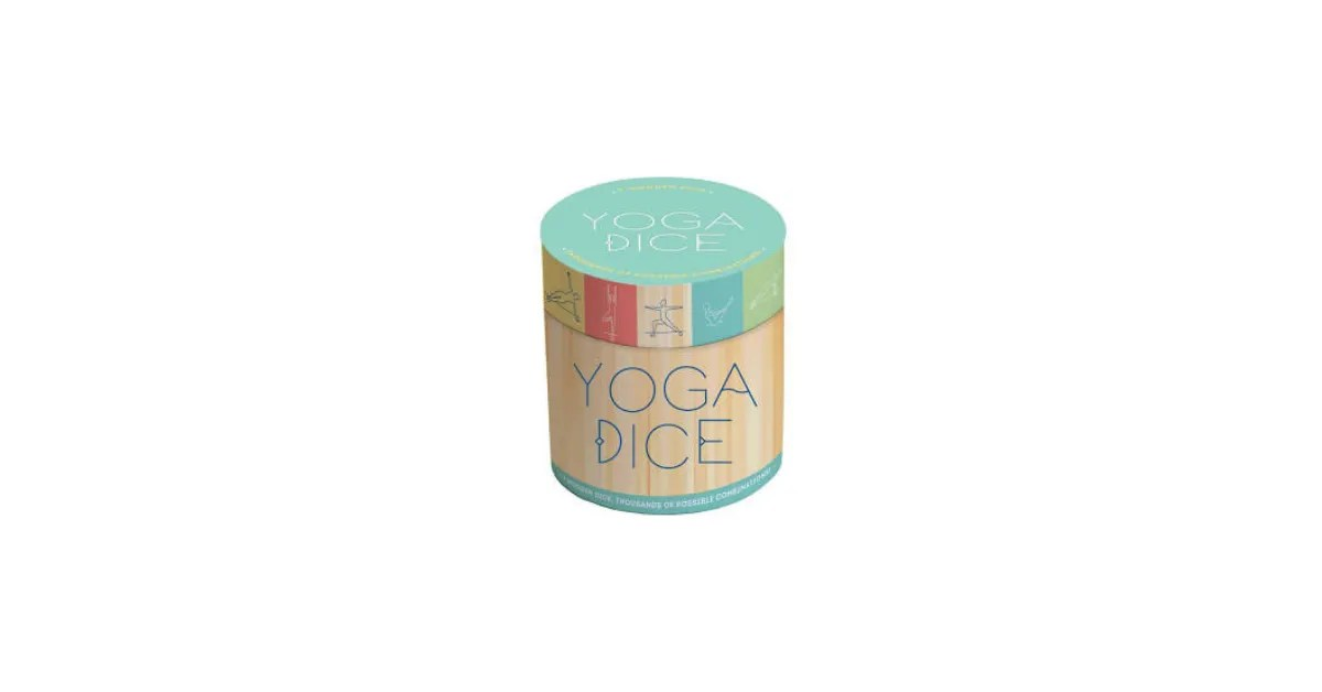 Yoga Dice-stress relief toys