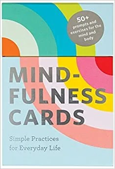 Mindfulness Cards-stress relief toys