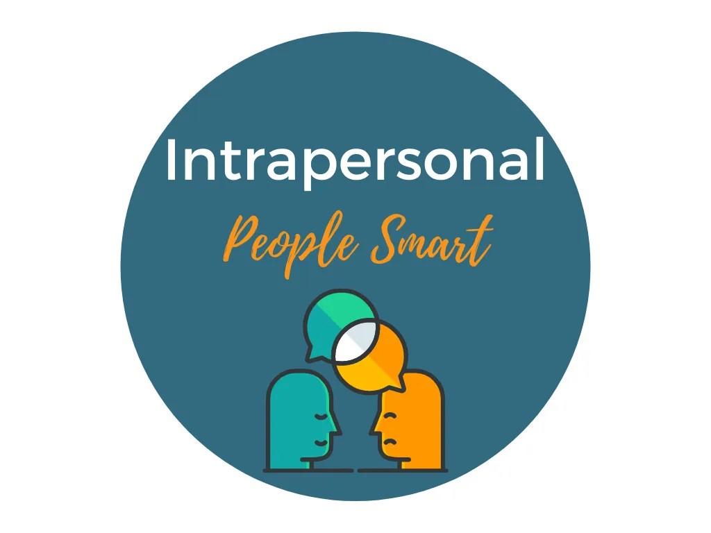 intrapersonal intelligence-people smart