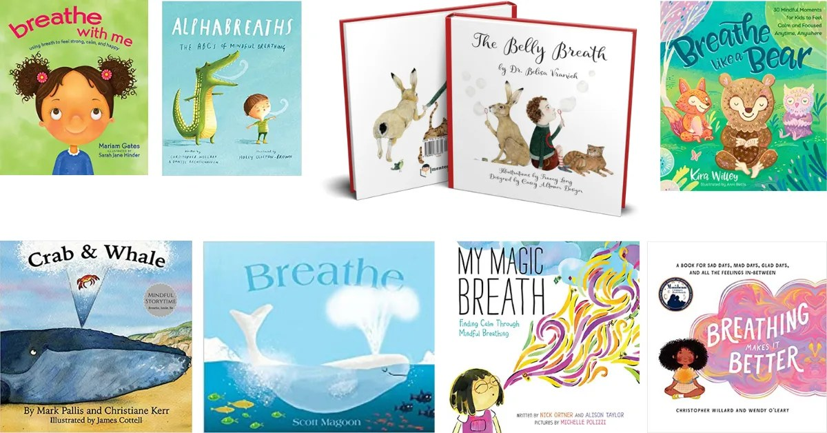best books for kids breathing exercises