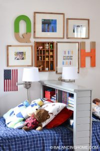 Shared Boys Bedroom - Balancing Home With Megan Bray