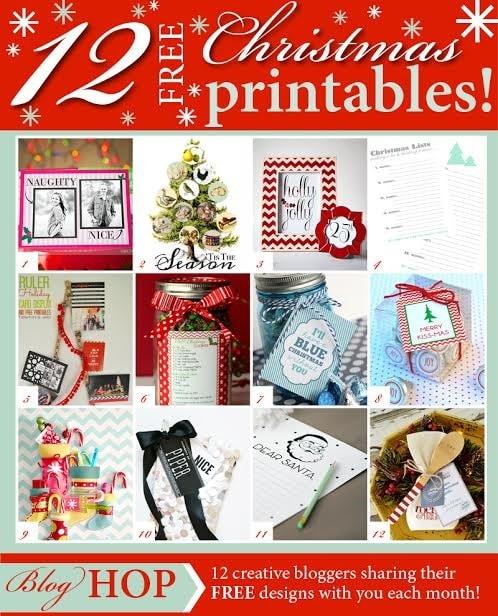 free gift printable