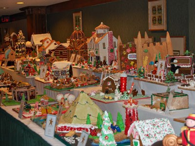 Gingerbread Houses Galore at The Grove Park Inn
