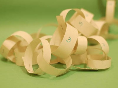 'How Many Days Until …' Paper Chain