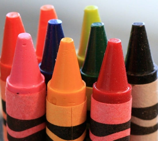 Crayons are tools for creativity