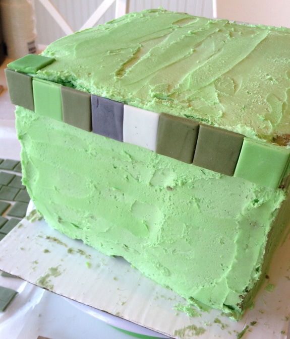 Stupendous Minecraft Cake Minecraft Creeper Birthday Cake Balancing Motherhood Personalised Birthday Cards Paralily Jamesorg