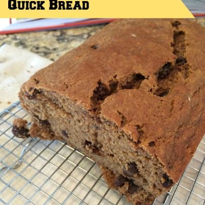 Moist and Delicious Cinnamon Raisin Quick Bread