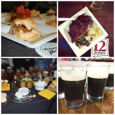 Food Blog Forum Highland Brewing Event