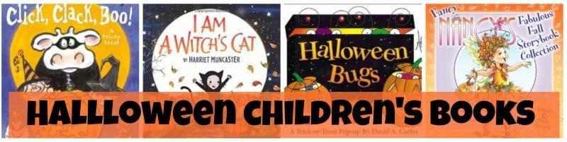 Halloween children's books