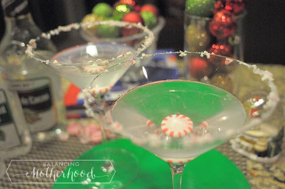 peppermint martini