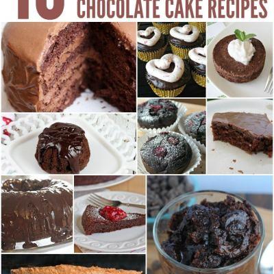 10 Luscious Chocolate Cake Recipes