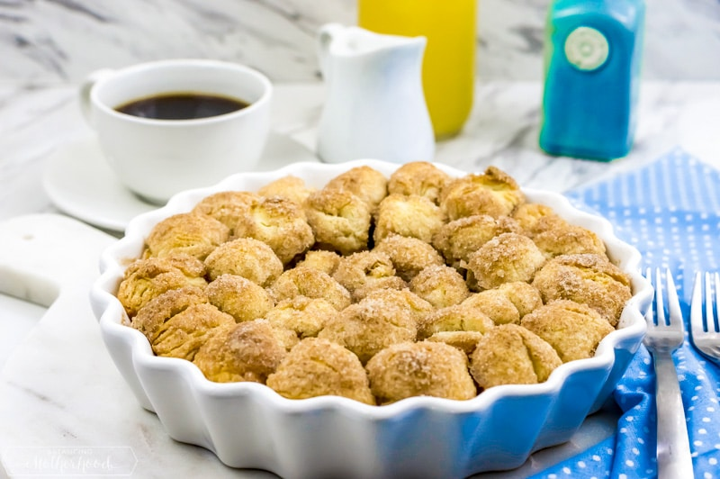 Looking for a quick snack? Try this cinnamon baked donut holes recipe.