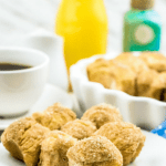 baked cinnamon donut holes recipe