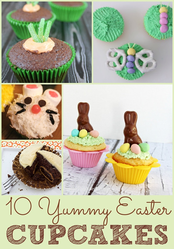 Easter cupcakes!
